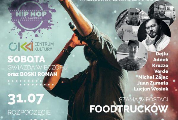 koncert charytatywny hip hop dom kultury knurow