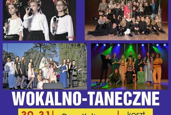 warsztaty wokalno taneczne dom kultury knurow